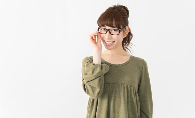 メガネで変装